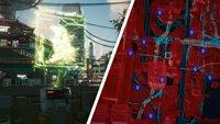 Cyberpunk 2077: Schnellreise erklärt & Fundorte aller Schnellreisepunkte
