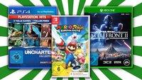"""""""3 für 2""""-Aktion: PS4-, Switch- und Xbox-Spiele im Angebot"""