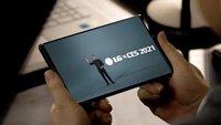 Geheimnis des ausrollbaren LG-Handys vorab enthüllt