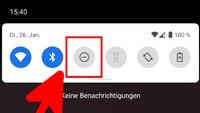 """""""Bitte nicht stören"""" aktivieren (Android & iOS)"""