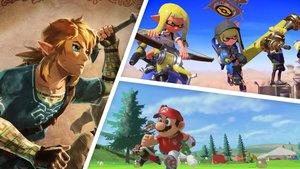 Zelda, Mario und mehr: Nintendo kündigt neue Switch-Games an