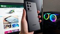 Samsung entwickelt eine Smartphone-Technologie, die alles verändern würde