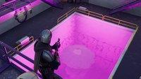 Fortnite: Bade im violetten Becken von Steamy Stacks – Fundort
