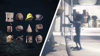 Little Nightmares 2: Alle Hüte und fragmentierte Überreste - Fundorte