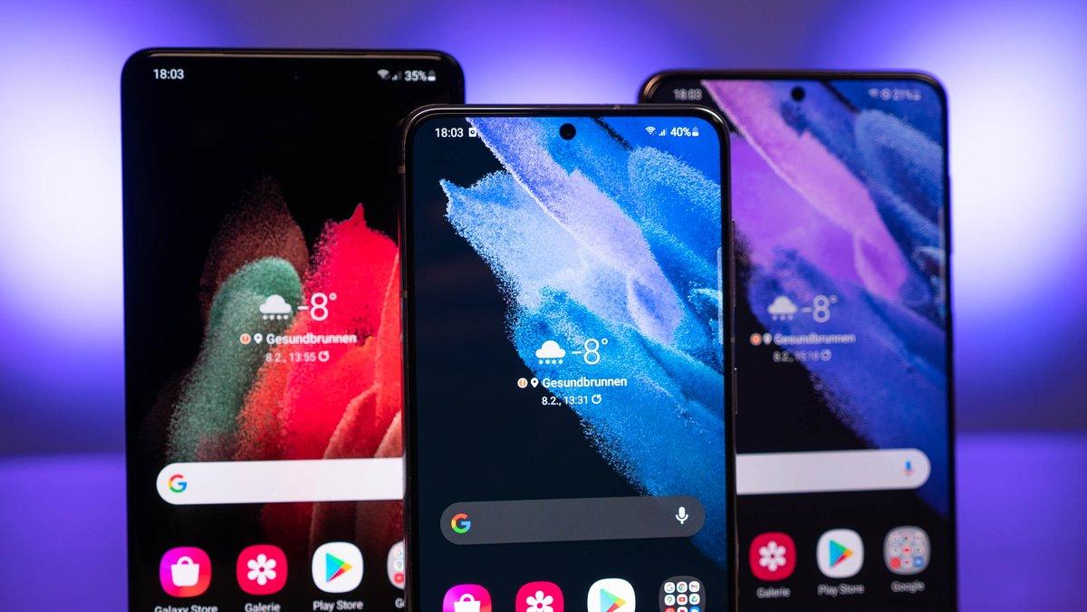 Samsung Galaxy S21: Android-12-Beta zum Download – das ändert sich mit One UI 4.0