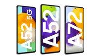 Samsung Galaxy A52 (5G) & A72 kaufen: Erstbesteller erhalten wertvolles Geschenk