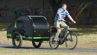 Wohnwagen für E-Bikes vorgestellt: Jetzt wird das Camping wirklich mobil