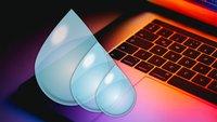Wasserdichtes MacBook: Apple macht den ersten Schritt