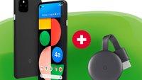 Google Pixel 4a mit Gratis-Extra: Handy-Bundle zum reduzierten Preis