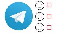 Telegram: Umfrage und Quiz erstellen –  so geht's