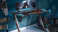 Gaming-Tische stark reduziert bei Amazon: Stylische Schreibtische zum Schnäppchenpreis