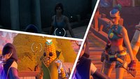 Fortnite: Hole bei Tarana, Lara Croft, Raven, Killer Küken und Kolbi Informationen über Raz