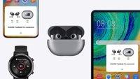 Huawei-Kopfhörer mit aktiver Geräuschunterdrückung nur heute extrem günstig kaufen