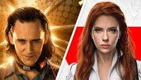 Loki und Black Widow: Neue Marvel-Trailer springen durch die Zeit