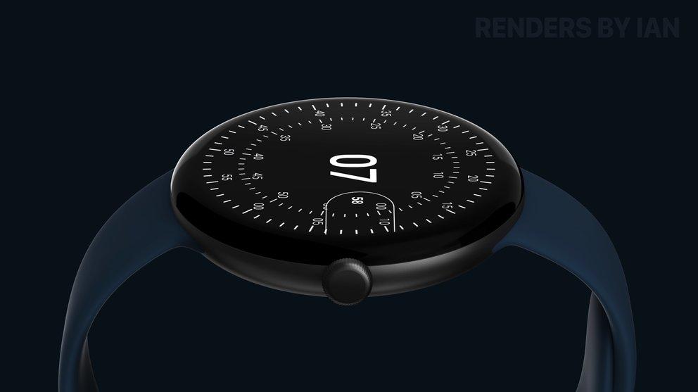 Pixel Watch So Minimalistisch Sieht Die Google Smartwatch Aus