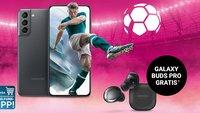 S21 für 1 Euro: Magenta-Deals für den Fußball-Sommer