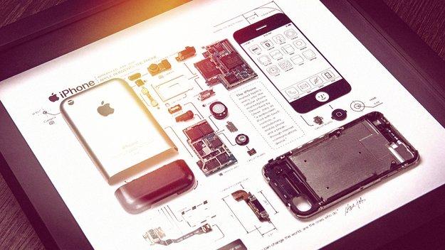 Perfektes Geschenk für Apple-Nutzer: Wenn aus Schrott Kunst wird