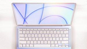 MacBook Air 2021: So schön bunt könnte Apples Notebook-Bestseller aussehen