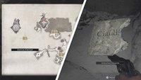 Resident Evil 8 Village: Zerbrochene Steinplatte für Donnas Kleinod finden
