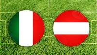 Fußball heute: Italien – Österreich im Live-Stream und TV (EM-Achtelfinale)