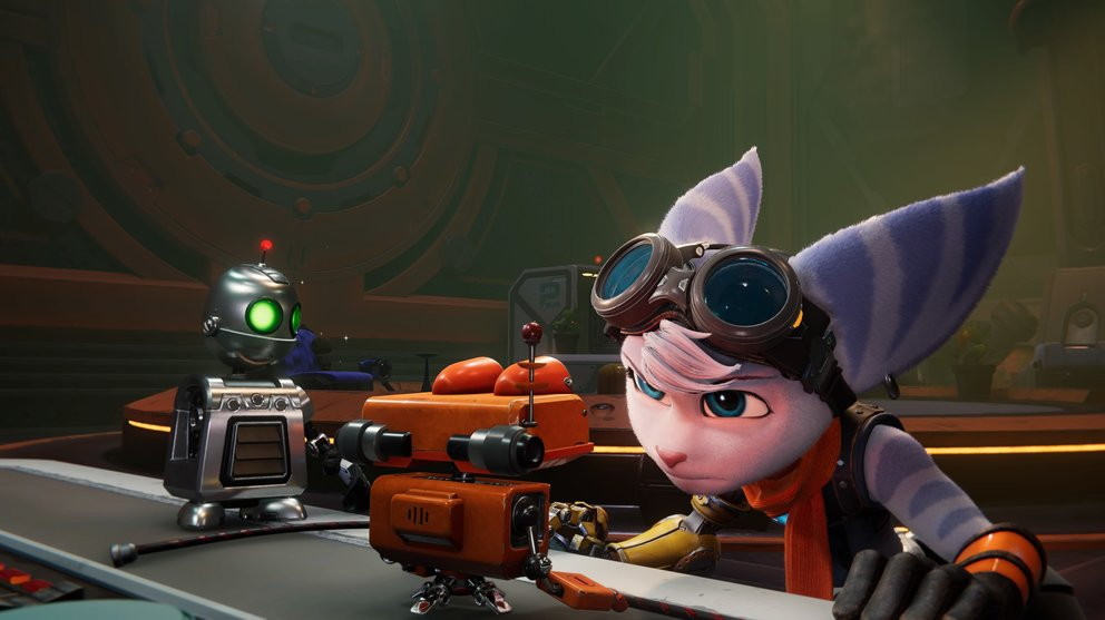 Rivet is the new playable character in Ratchet & Clank: Rift Apart.