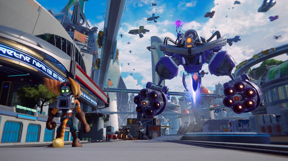 Ratchet & Clank: Rift Apart can also be seen visually.