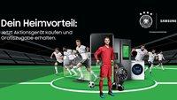 Samsung startet EM-Aktion: Zweites Produkt gratis beim Smartphone-, Tablet- oder Smartwatch-Kauf