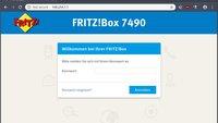 Fritzbox 7590: Login – so kommt ihr in die Fritzbox!