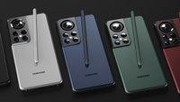 Galaxy 22 Ultra: So schick und ungewöhnlich könnte das Samsung-Handy aussehen
