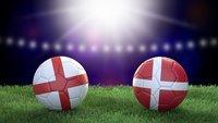 Fußball heute: England – Dänemark im Live-Stream und TV (EM-Halbfinale)