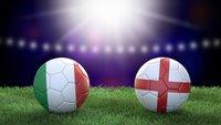 Fußball heute: Italien – England im Live-Stream und TV (EM-Finale)