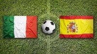 Fußball heute: Italien – Spanien im Live-Stream und TV (EM-Halbfinale)