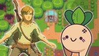 Geheimer Zelda-Klon: Rüben-Link haut alles kurz und klein