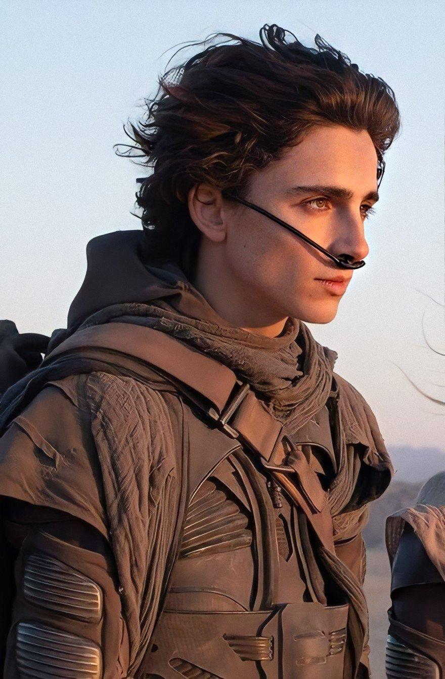 Timothée Chalamet als Paul Atreides in Dune (2021)