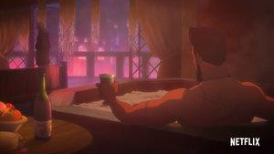 Witcher-Anime: Netflix-Trailer zeigt Vesemirs wilde Jahre