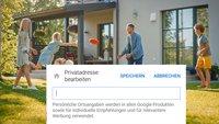 Google Maps: Zuhause ändern – so gehts