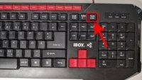 Wo ist die Pause-Taste auf der Tastatur?