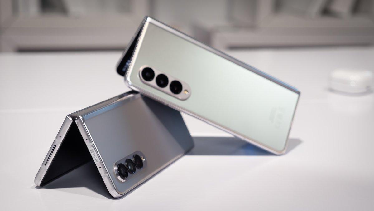 Samsung Galaxy Z Fold 3 5G mit Unlimited-Tarif: 100 Euro geschenkt bekommen – so geht's