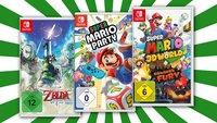 3 Nintendo-Switch-Spiele für 111 Euro – nur noch heute im Angebot