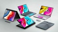 Asus: Neue Notebooks setzen auf schicke OLED-Displays