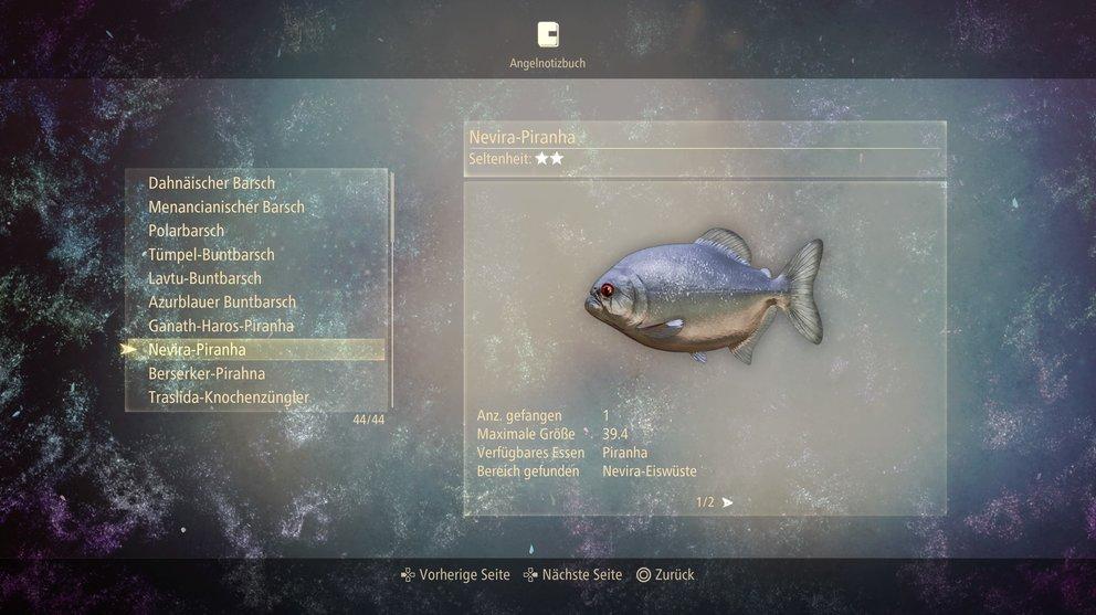 Nevira-Piranha in Tales of Arise.
