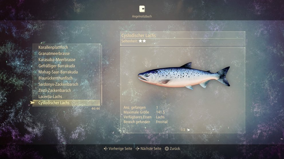 Cyslodischer Lachs in Tales of Arise.