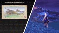 Genshin Impact: Die Erinnerungen von Seirai freischalten und alle Bilder aufnehmen