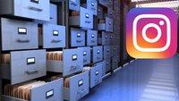 Instagram: Archivierte Bilder wiederherstellen – so gehts