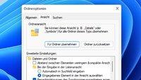 Windows 11 und 10: Ordneroptionen öffnen & anpassen – so geht's