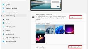 Windows 11: Hintergrundbild ändern – so geht's