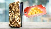 PS5 aus Gold: Diese Next-Gen-Konsole werdet ihr euch niemals leisten können