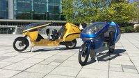 Verrücktes E-Bike wird zum Motorrad: Einfach hinlegen und losfahren