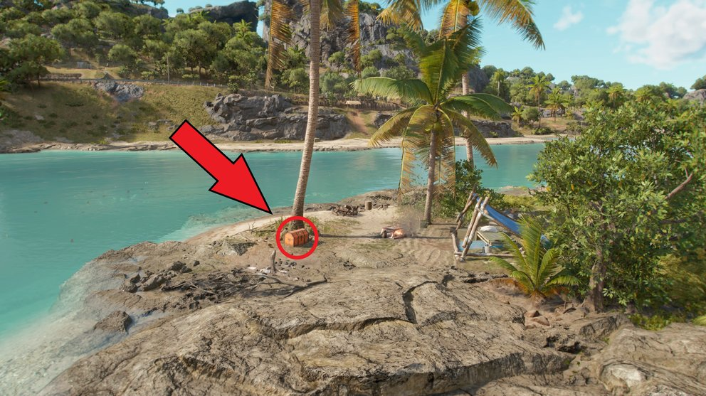 With this treasure chest you can use the mysterious key (Far Cry 6).