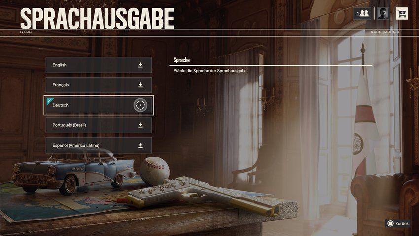 Adjust German audio output (PC, PS4, PS5, Xbox)